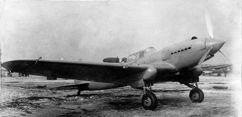 Штурмовик Ил-2-80 лет первому полету