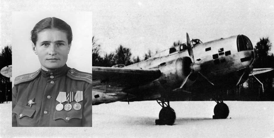 Лётчик-испытатель Русакова Нина Ивановна